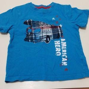 EUC Boys Firetruck Shirt